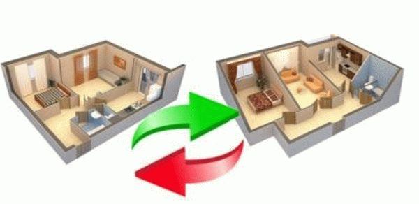 Образец проекта перепланировки квартиры для согласования